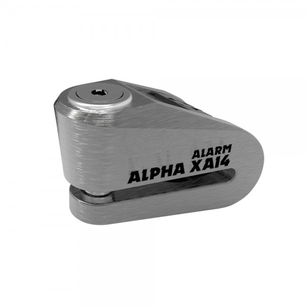 Oxford Alpha XA14 Alarm Disc Lock(14mm pin) Stainless