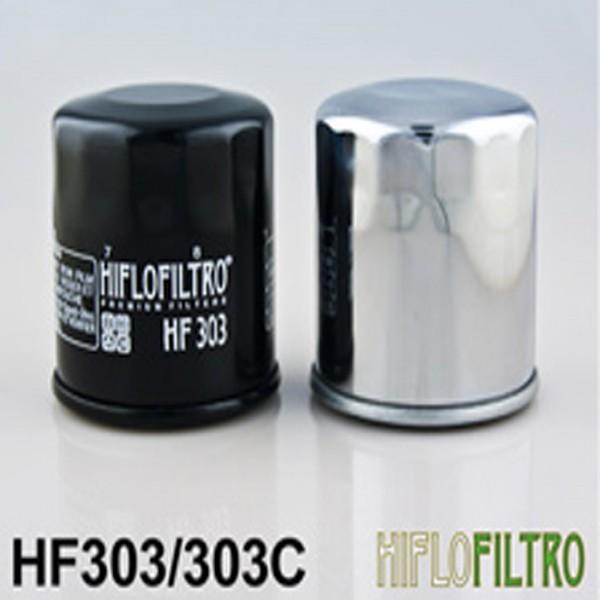Hiflo Hf303C Chrome Oil Filter