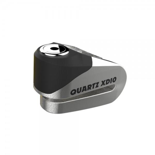 Oxford Quartz XD10 disc lock(10mm pin) Brushed stainless effect