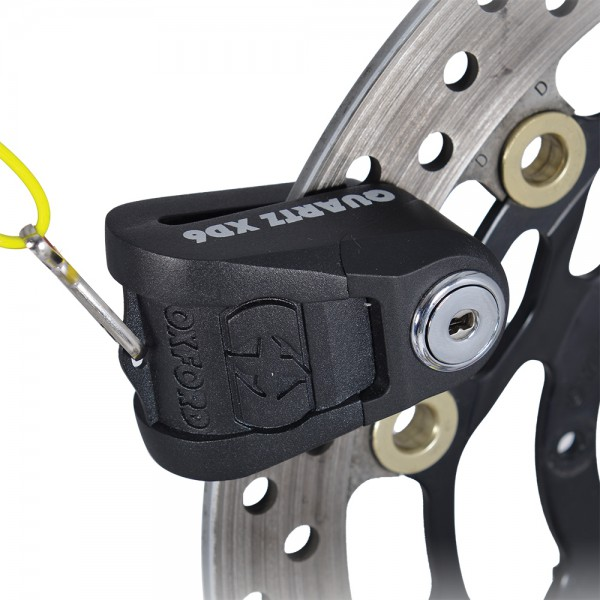 Oxford Quartz XD6 disc lock(6mm pin) Black