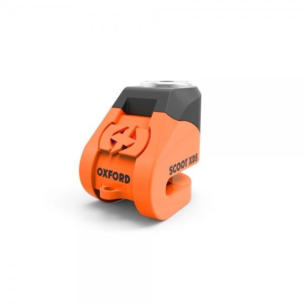 Oxford Scoot XD5 disc lock(5mm pin)Orange/black
