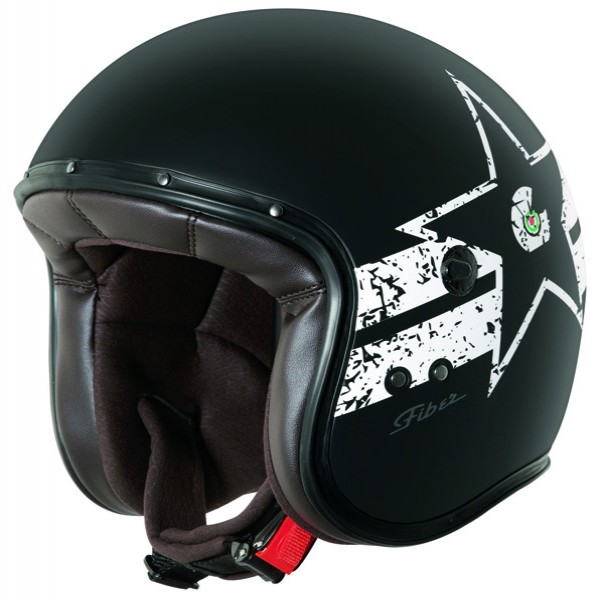 Caberg Freeride Soul Matt Black & White