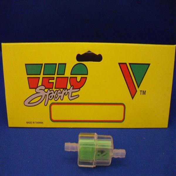 Velo Sport Fuel Line Filter 6Mm Green Pk-10 [Flf013]