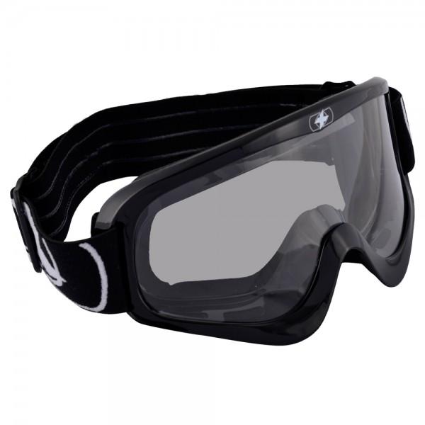 Oxford Fury Goggle - Glossy Black