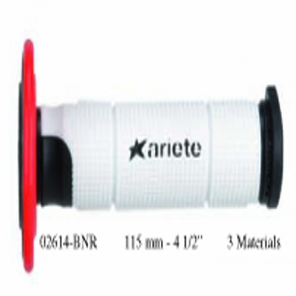 Ariete 02614-Bnr Grips (Off-Road) Trinity White 125Mm