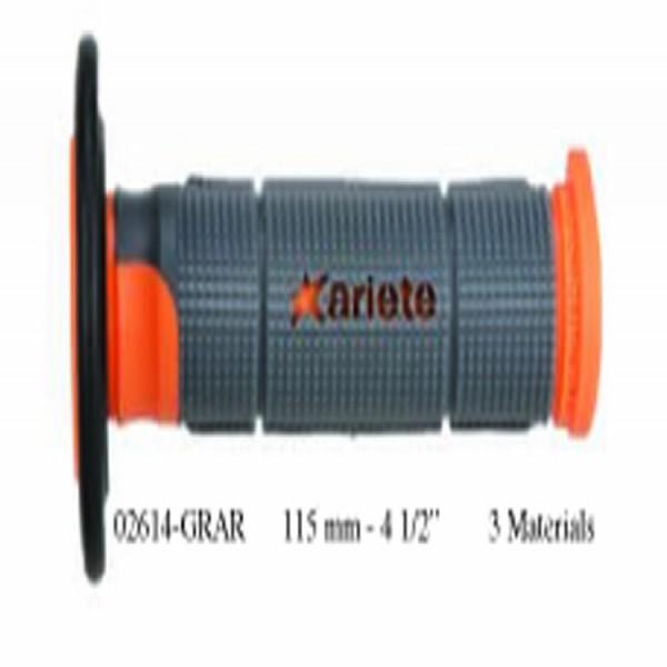 Ariete 02614-Grar Grips (Off-Road) Trinity Orange 125Mm