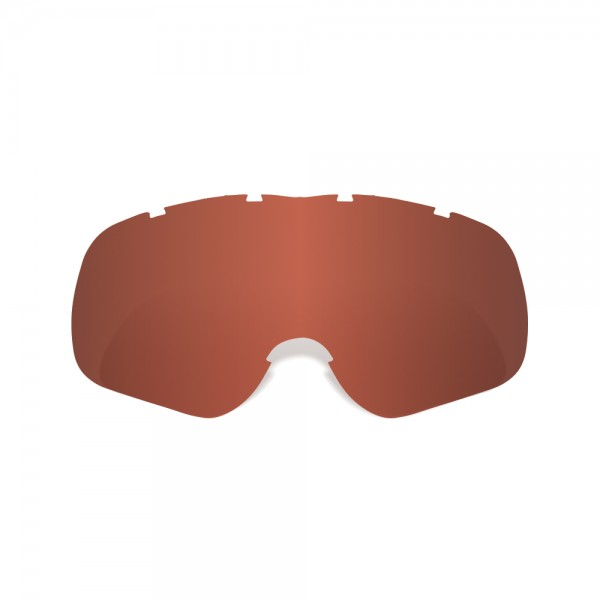 Oxford Assault Pro Tear-Off Ready Red Tint Lens