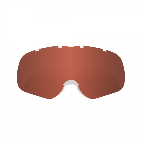 Oxford Fury Junior Red Tint Lens
