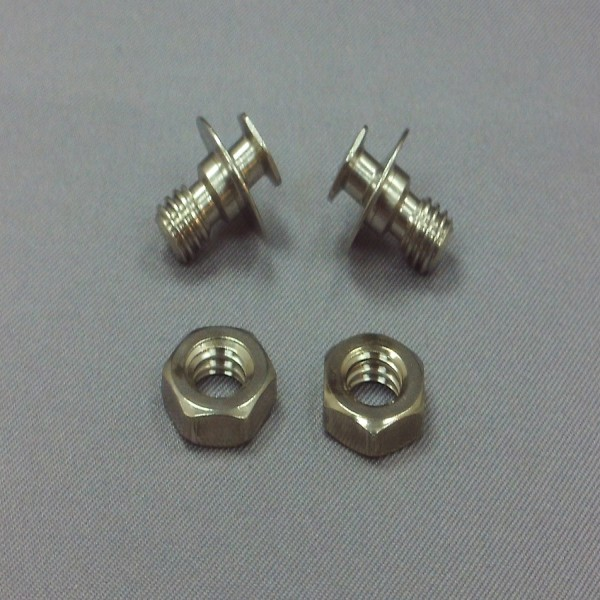 SHOEI Syncrotec Hexagonal Locking Pin Silver