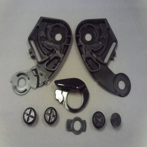 SHOEI Base Plate & Screws X-Spirit/xr1000 Black