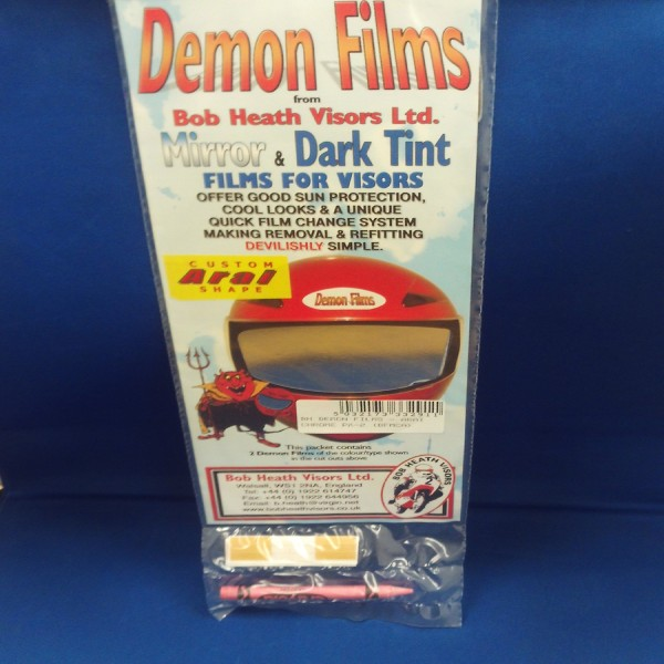 Bob Heath Demon Films ARAI Chrome