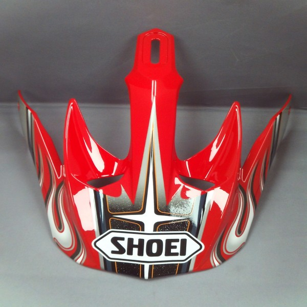SHOEI Peak V-Moto Pulse Tc1 Red