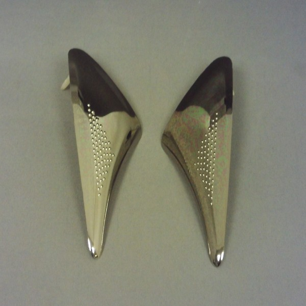 Spada Rp700 Lower Upper Front Vent-Silver (Pair)