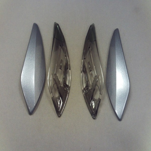 SHOEI Xr1100 Upper Intake Vent Pearl Grey