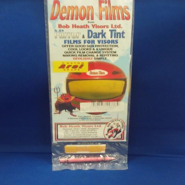 Bob Heath Demon Films ARAI Gold
