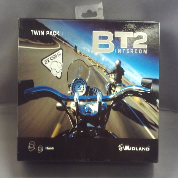 Midland Bt2 Twin Pack M/c Unit Intercom