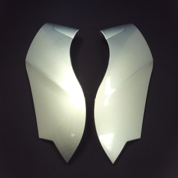 Caberg Side Plates Silver [Justissimo Gt]