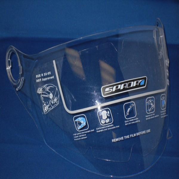 Spada Duo Visor Clear Drilled & Plugged