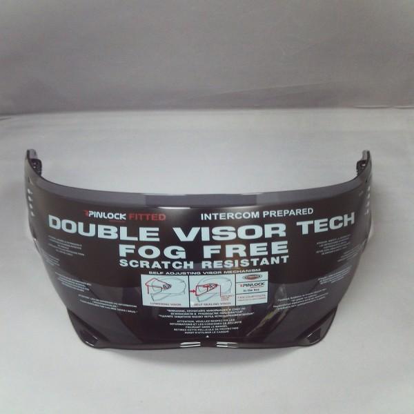 Caberg Visor Dark Smoke Anti Scratch/pins [Drift] [Not For Road Use]