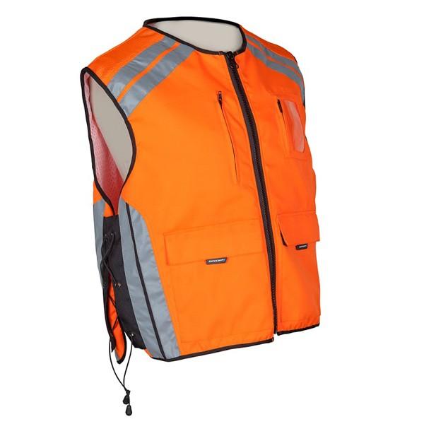 Spada Hi-Viz Waistcoat With Pockets En471 Orange