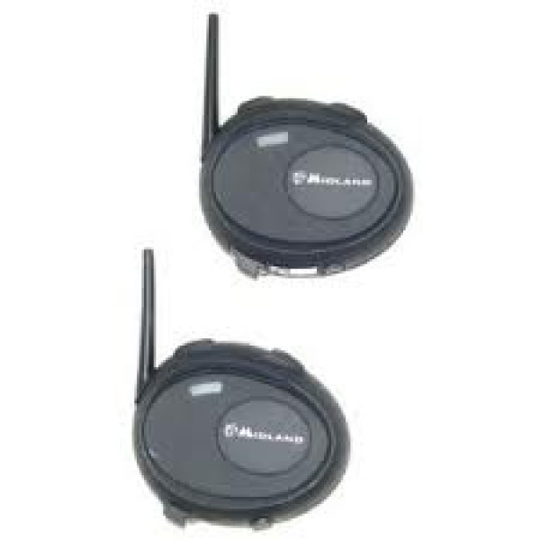 Midland Bt City Twin Pack (Pre-Paired) Intercom