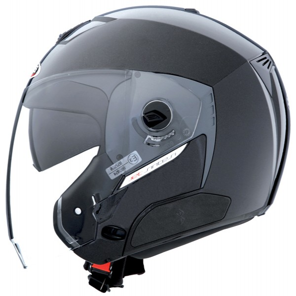 Caberg Jet Sintesi Metal Black