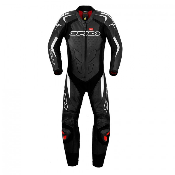 Spidi Gb Supersport Wind Leather Suit Black & White