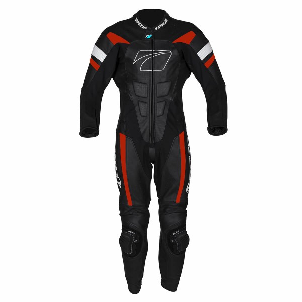 Spada Leather Suit 1 Piece Curve Evo Black & Red