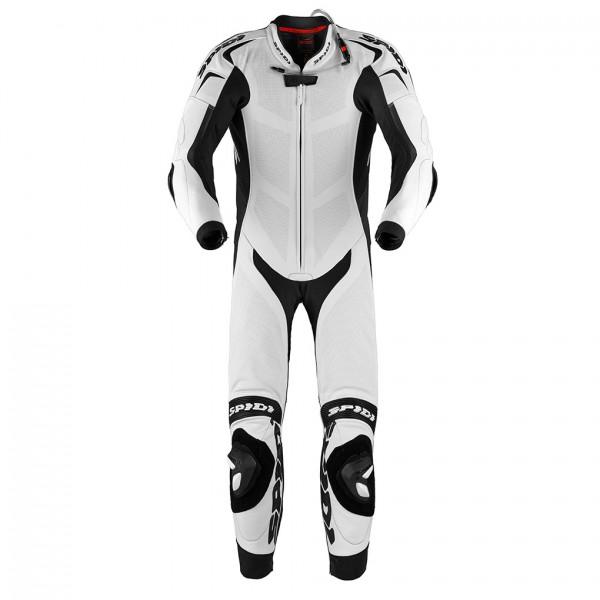 Spidi Gb Wind Pro Replica Piloti Suit White Black