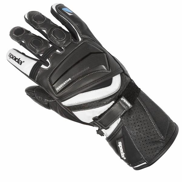 Spada Leather Gloves Latour Summer Black & White
