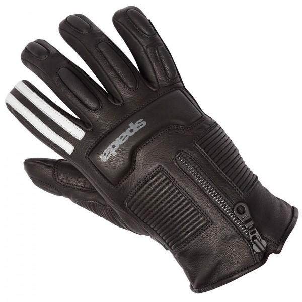 Spada Leather Gloves Rigger Wp Mono Black