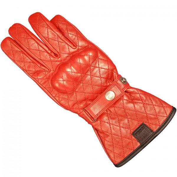 Spada Leather Gloves Hartbury Wp Ladies Rouge