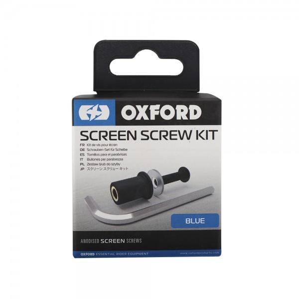 Oxford Screen Screw - Blue