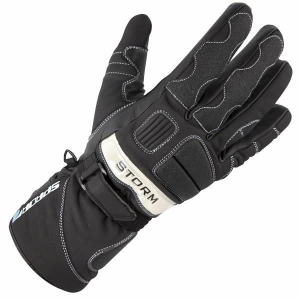 Spada Leather Gloves Storm Wp Black