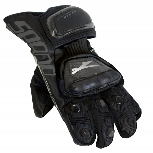 Spada Leather Gloves Elite Black