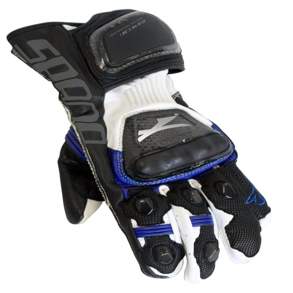 Spada Leather Gloves Elite Blue