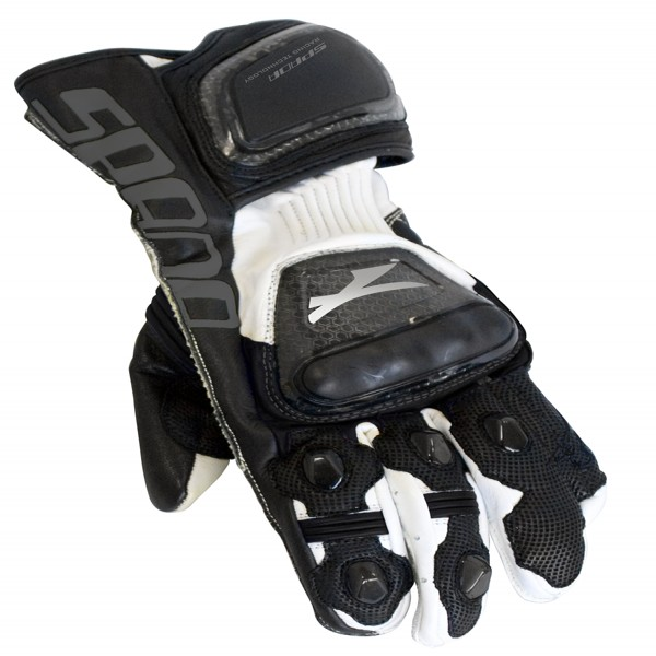 Spada Leather Gloves Elite White