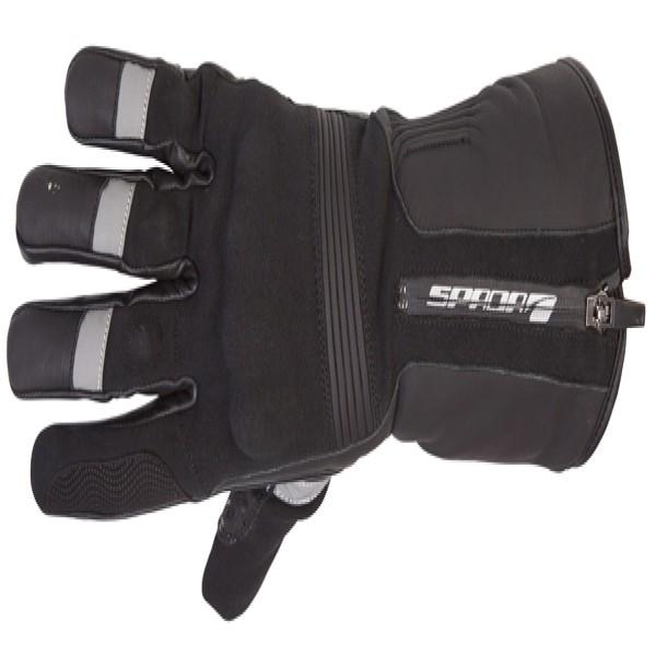 Spada Leather/textile Gloves Prestige-Tech Wp Black
