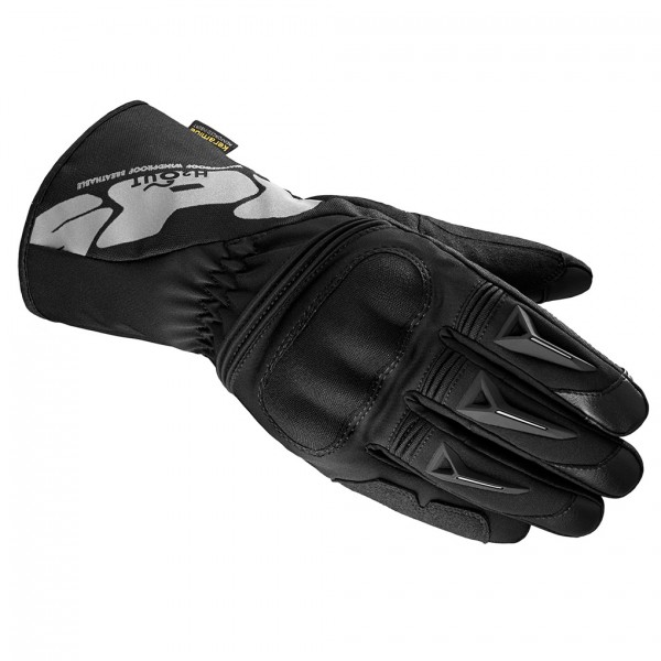 Spidi Gb Alu-Pro Wp Leather Gloves Black & Grey