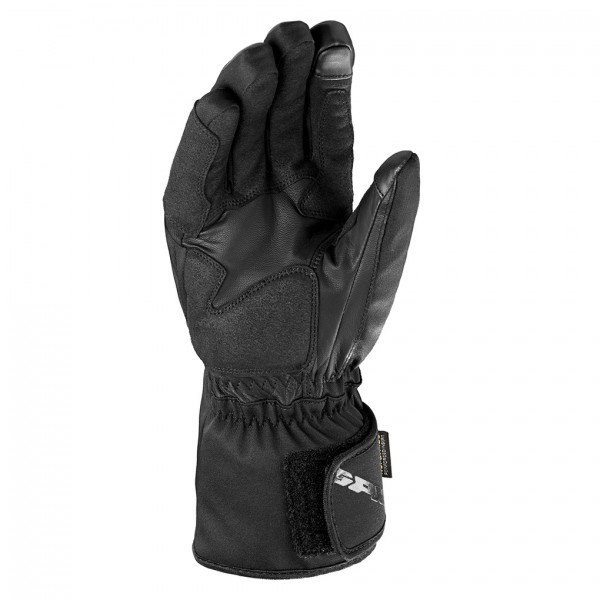 Spidi Gb Alu-Pro Wp Leather Gloves Black & Grey