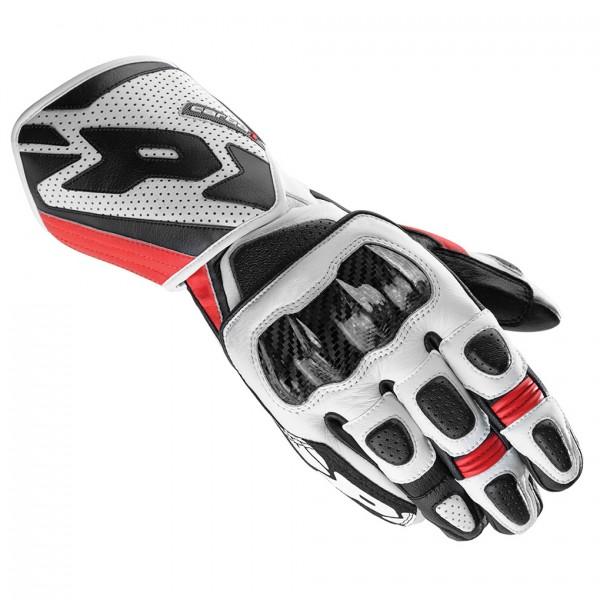 Spidi Gb Carbo 1 Leather Gloves Black & Red