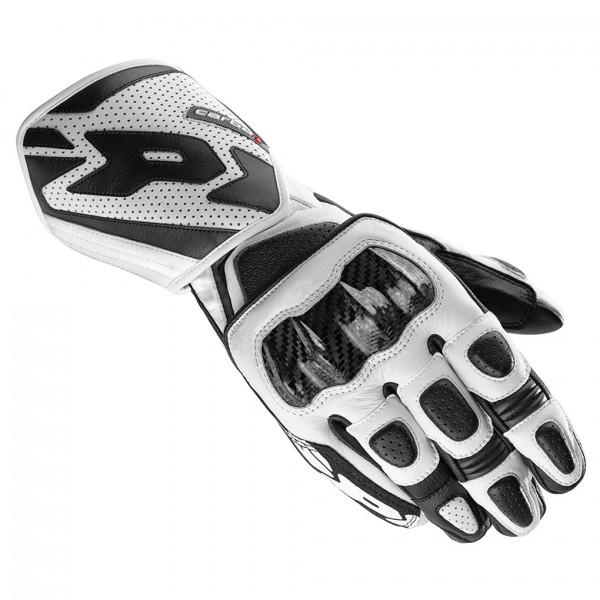 Spidi Gb Carbo 1 Leather Gloves Black & White
