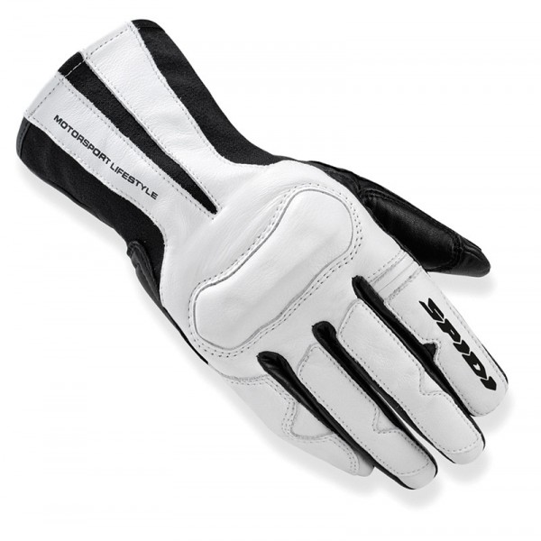 Spidi It Charm Lady Leather Gloves Black & White