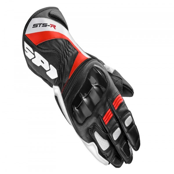 Spidi Gb Sts-R Lady Leather Gloves Black & Red