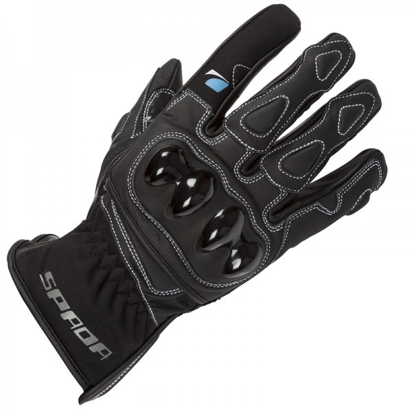 Spada Leather Gloves Moto Black