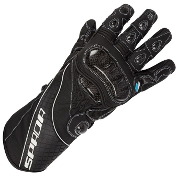 Spada Leather Gloves Corsa Rd Black