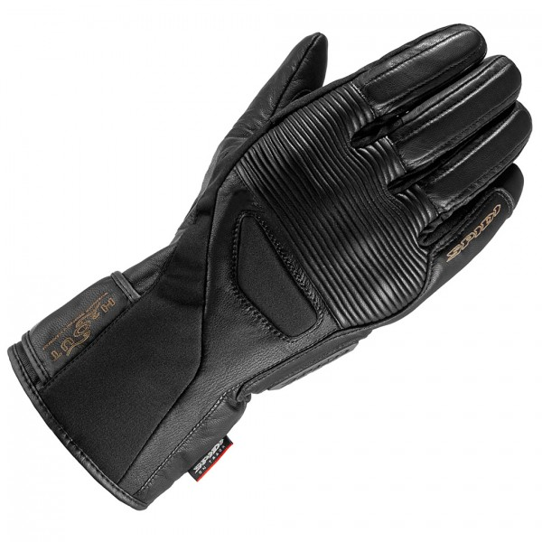 Spidi Gb Firebird Wp Leather Gloves Black