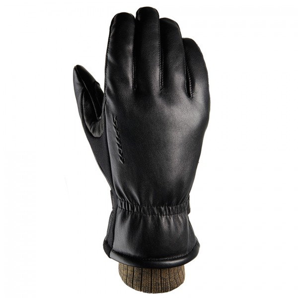 Spidi Gb Avant Garde Wp Leather Gloves Black