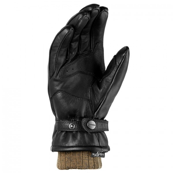 Spidi Gb Avant Garde Wp Leather Gloves Black