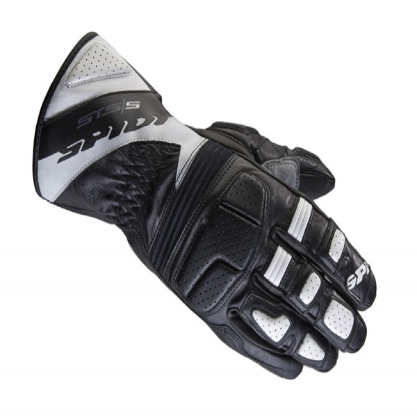 Spidi Gb Sts-S Leather Gloves Black & White